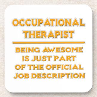Terapeuta profesional. Descripción de las Posavasos De Bebidas