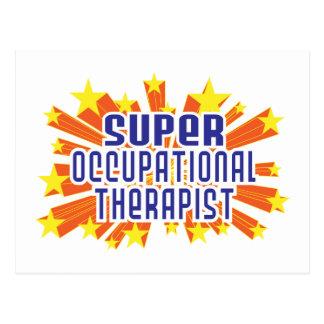 Terapeuta profesional estupendo tarjeta postal