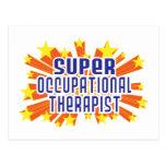 Terapeuta profesional estupendo tarjetas postales
