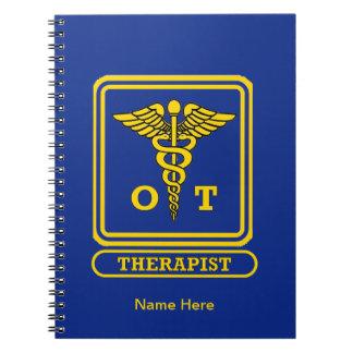 Terapeuta profesional notebook