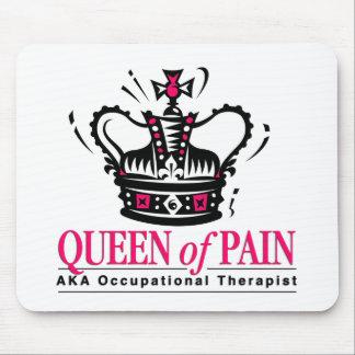 Terapeuta profesional - reina del dolor tapetes de ratón