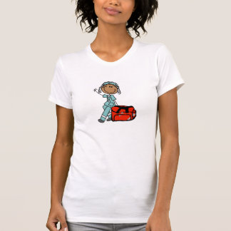 Terapeuta respiratorio de sexo femenino o EMT Tshirts