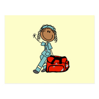 Terapeuta respiratorio de sexo femenino o EMT Postal