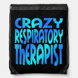 Terapeuta respiratorio loco mochilas