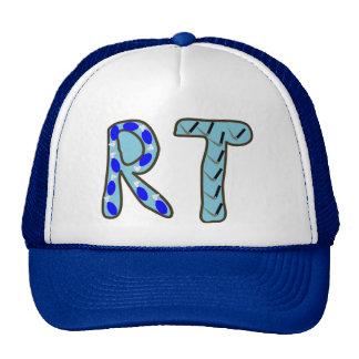 "Terapeuta respiratorio ""RT "" Gorras"