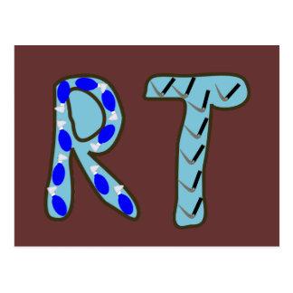 "Terapeuta respiratorio ""RT "" Postal"