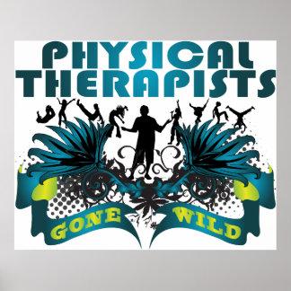 Terapeutas físicos idos salvajes posters