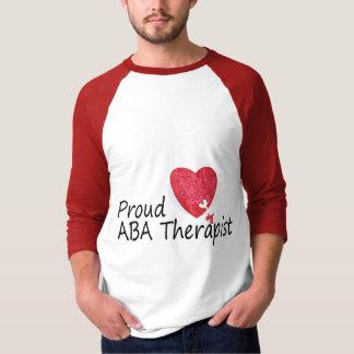Terapeutas orgullosos del ABA (corazón) Polera