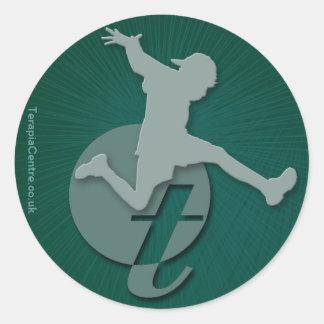 Terapia Centre Classic Round Sticker