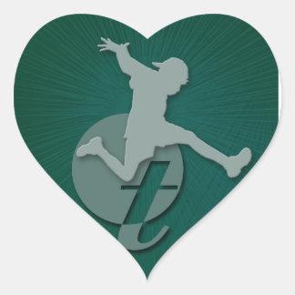 Terapia Centre Heart Sticker