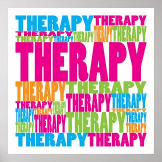 Terapia colorida póster