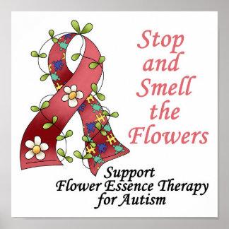 Terapia de la flor para el autismo posters