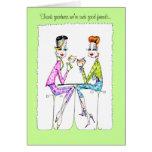 Terapia de la novia tarjetas