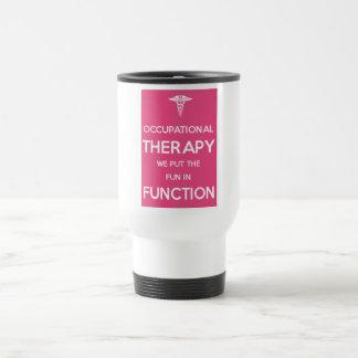 Terapia de la rehabilitación de la taza OT del via
