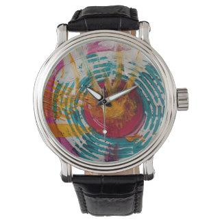 Terapia del arte relojes de pulsera