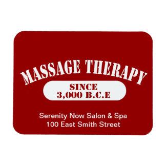 Terapia del masaje desde 3.000 B.C.E. Imanes De Vinilo