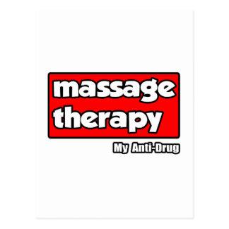 Terapia del masaje Mi antinarcótico Postal