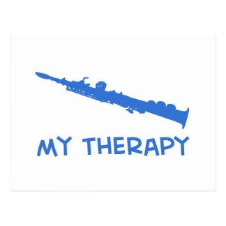 Terapia del saxofón del soprano postal