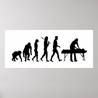 Terapia física de la medicina de deportes de la fi poster