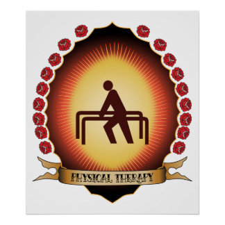 Terapia física Mandorla Posters