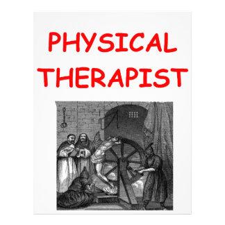 terapia física plantilla de membrete
