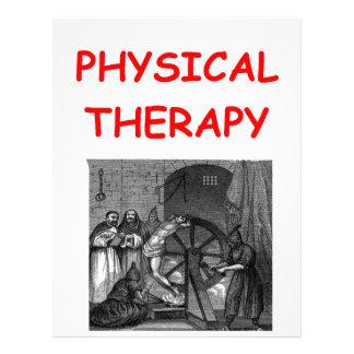 terapia física plantillas de membrete