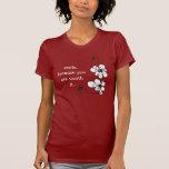 terapia floral - sonrisa camiseta