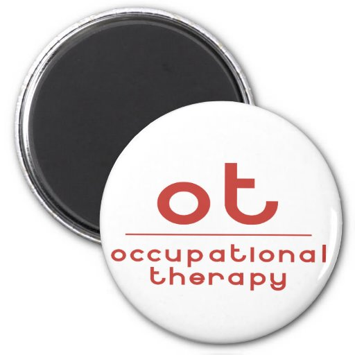Terapia profesional de OT Imanes