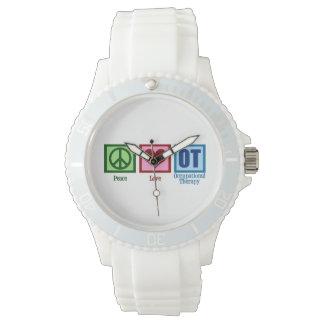 Terapia profesional linda relojes de pulsera