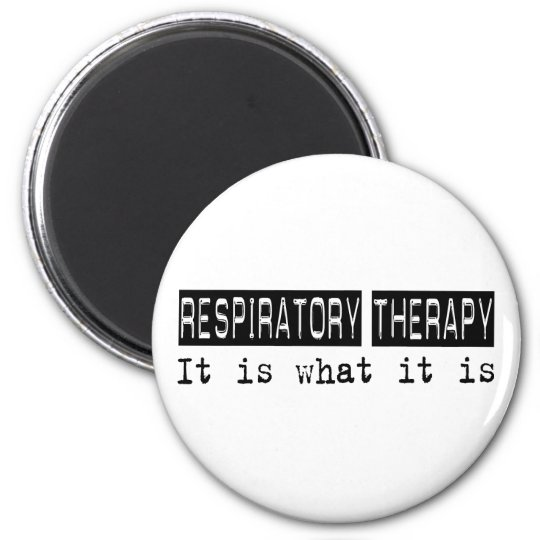 Terapia respiratoria es imán redondo 5 cm