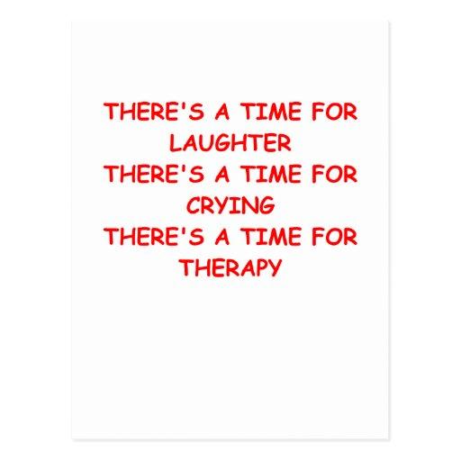 terapia tarjeta postal