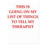 terapia tarjetas postales