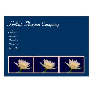 Terapia/yoga/cura holísticas tarjetas personales