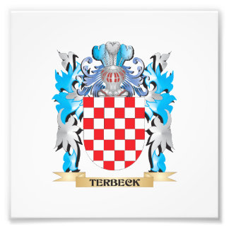 Terbeck Coat of Arms - Family Crest Photographic Print