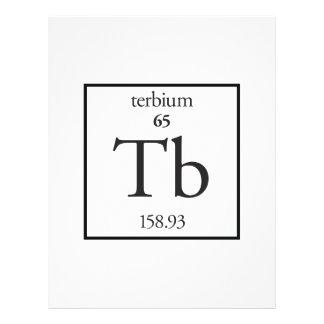 Terbium Flyer Design