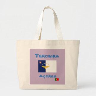 Terceira Azores Custom Tote Bag
