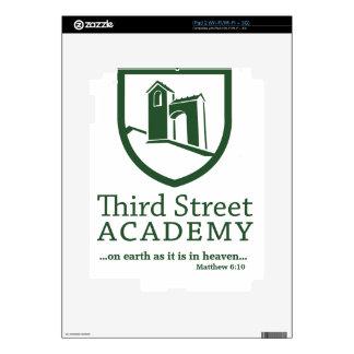 Tercer 6:10 de Matthew de la academia de la calle Calcomanías Para El iPad 2