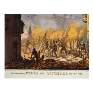 Tercer día del cerco del de sept. 23 de 1846 de Mo Postal