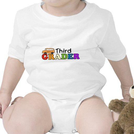 Tercer graduador traje de bebé