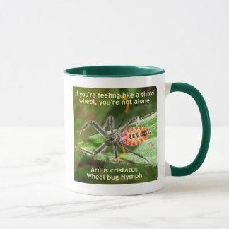 Tercer insecto de rueda taza