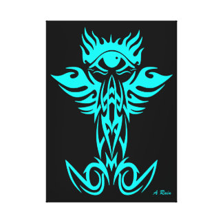 Tercer ojo con las alas ciánicas