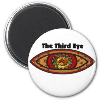 Tercer ojo por Manda Imán Redondo 5 Cm