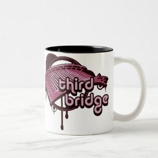 tercer puente. pink&maroon. taza de café