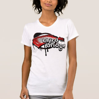 tercer puente. white&red. remera