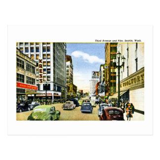 Tercera avenida y Pike Seattle Washington Postal