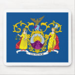 Tercera bandera del regimiento de Nueva York Tapete De Raton
