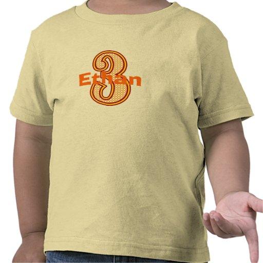 Tercera camisa del cumpleaños del circo