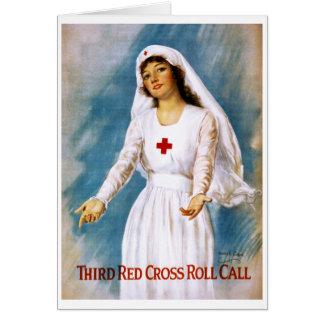 Tercera lista de la Cruz Roja, 1918 Felicitacion