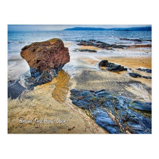 Tercera playa, Bovisand, Devon Postal