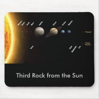 Tercera roca del Sun Mousepad